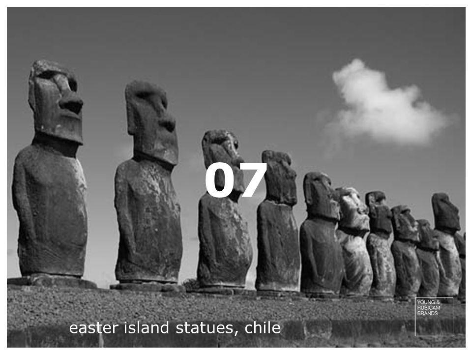 07 easter island statues, chile