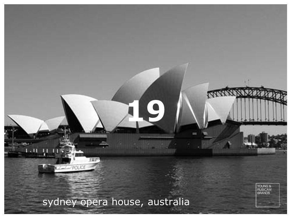 19 sydney opera house, australia