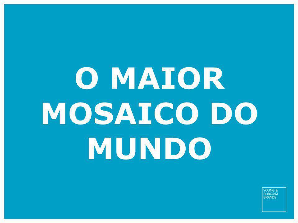 O MAIOR MOSAICO DO MUNDO