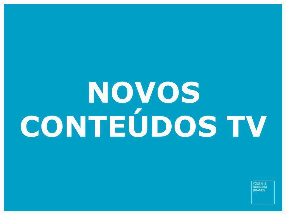 NOVOS CONTEÚDOS TV