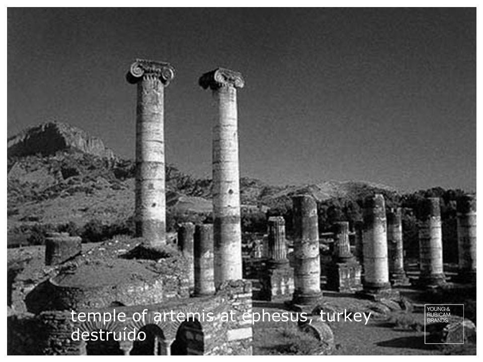 mausoleum of halicarnassus, turkey destruído