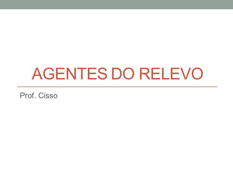 AGENTES DO RELEVO Prof. Cisso