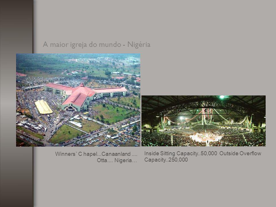 A maior catedral católica do mundo - Costa