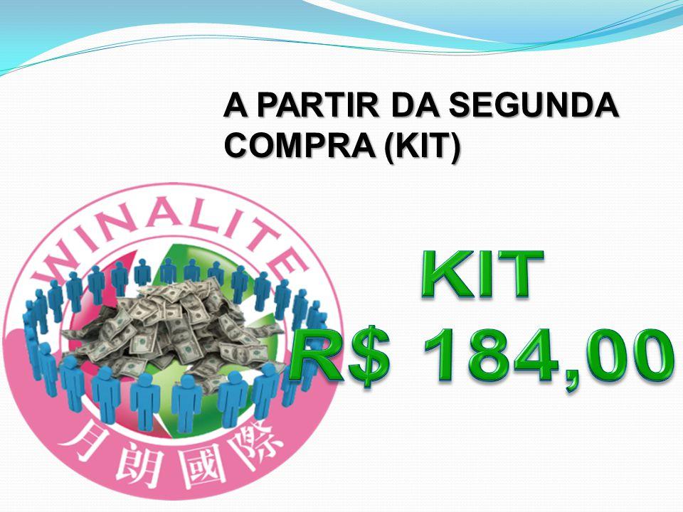 A PARTIR DA SEGUNDA COMPRA (KIT)