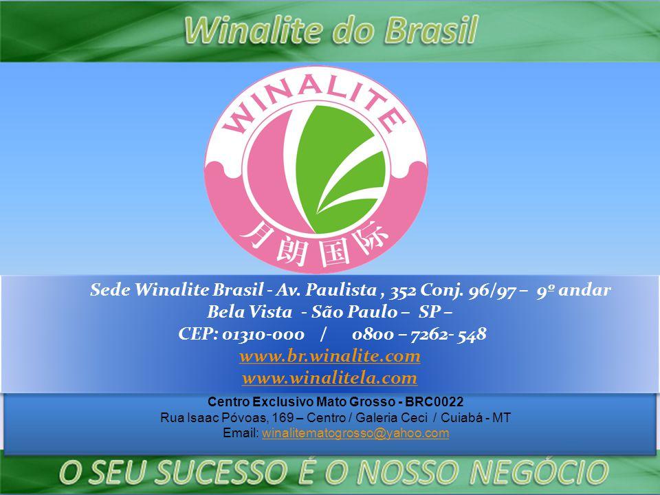 Sede Winalite Brasil - Av.Paulista, 352 Conj.