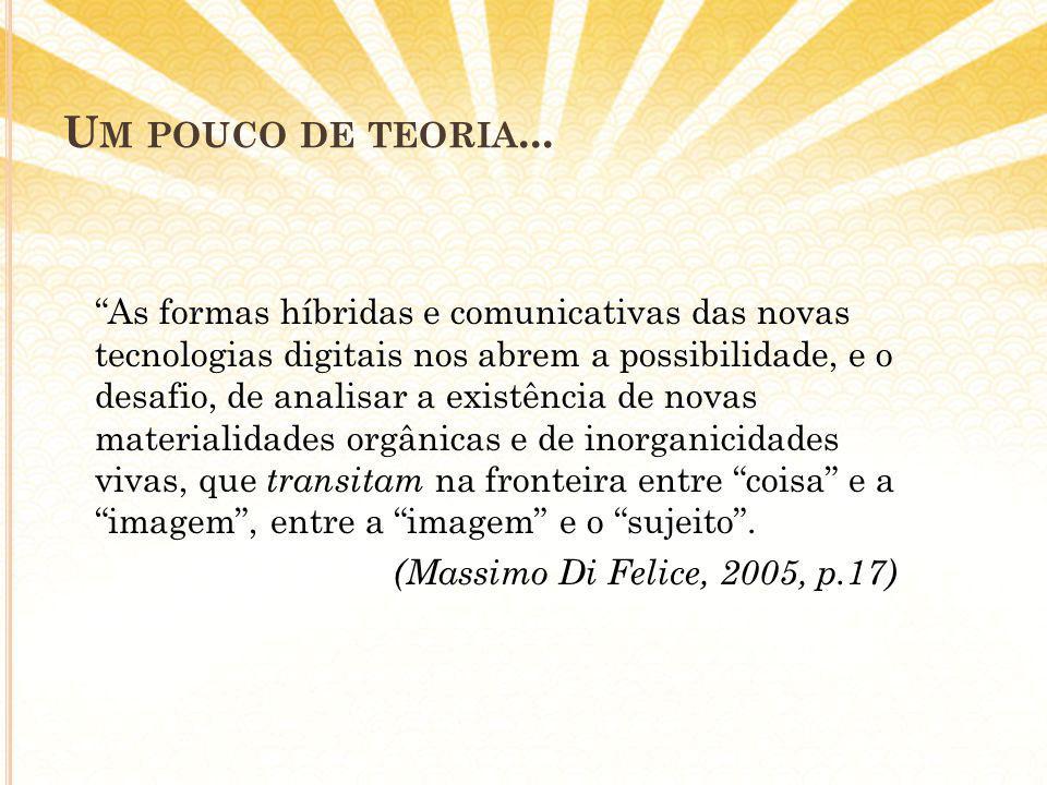 U M POUCO DE TEORIA...