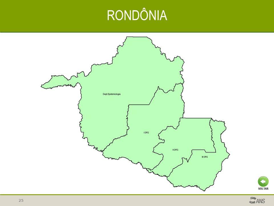 25 RONDÔNIA