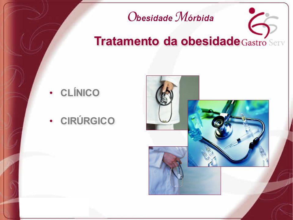 CLÍNICO CIRÚRGICO CLÍNICO CIRÚRGICO Tratamento da obesidade O besidade M órbida
