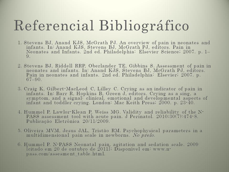 Referencial Bibliográfico