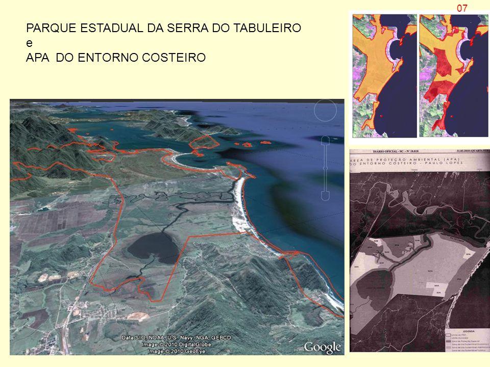 PARQUE ESTADUAL DA SERRA DO TABULEIRO e APA DO ENTORNO COSTEIRO 07