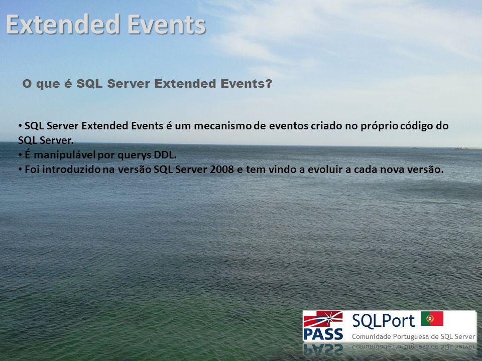 Extended Events Porquê um novo mecanismo.