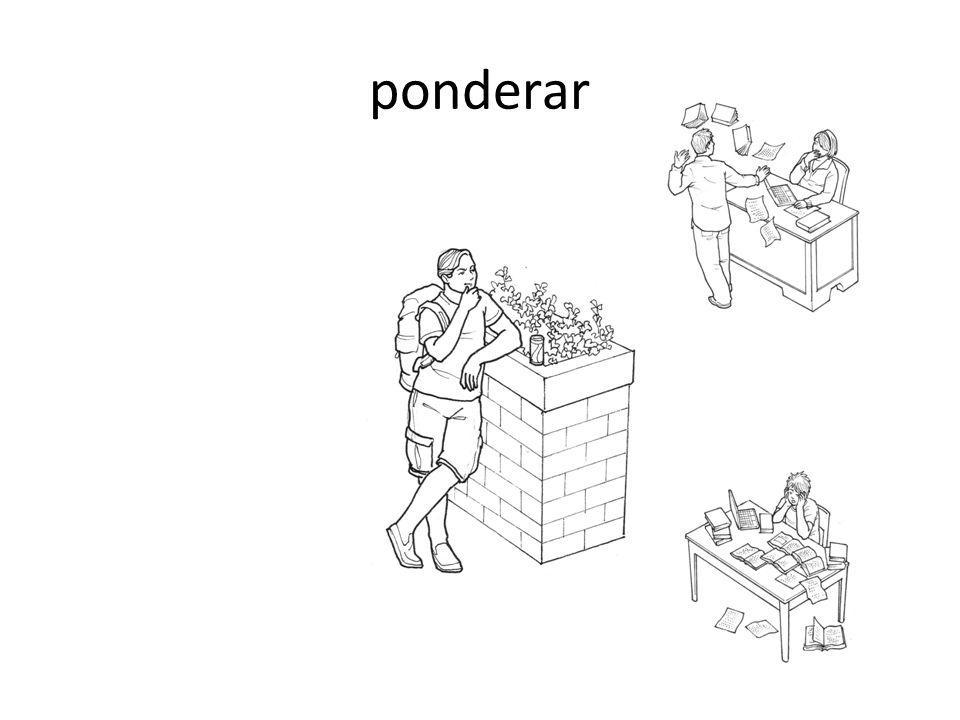 ponderar