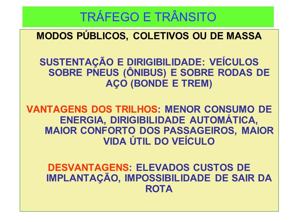 TRÁFEGO E TRÂNSITO ENERGIA PARA LOCOMOÇÃO ÔNIBUS: ÓLEO DIESEL, ELETRICIDADE, GÁS NATURAL, ÁLCOOL, GASOLINA, BATERIAS ELÉTRICAS, CÉLULA DE HIDROGÊNIO, BIODIESEL SOBRE TRILHOS: ENERGIA ELÉTRICA