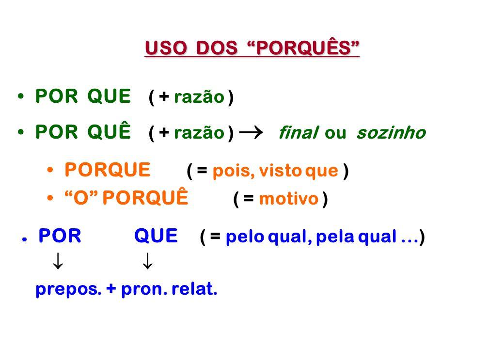 ACENTUAÇÃO GRÁFICA PALAVRANÃO acentuada OXÍTONA ACENTUADA - A(s) - E M - E (s) - ENS - O (s) TODAS AS OUTRAS PAROXÍTONA TODAS AS OUTRAS - A (s) - EM -