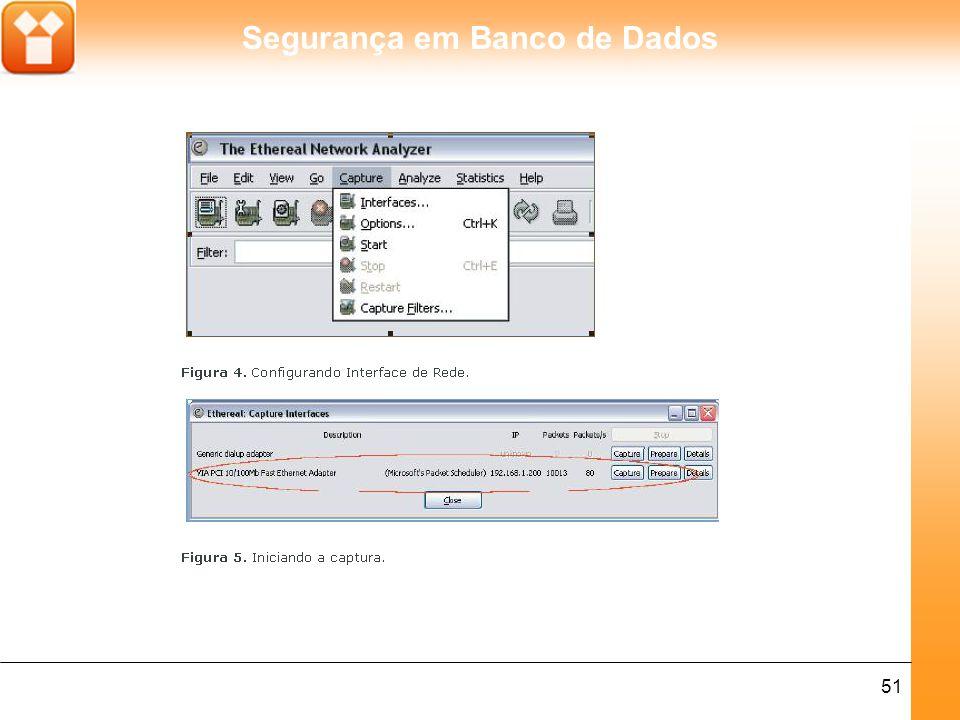 Segurança em Banco de Dados 51