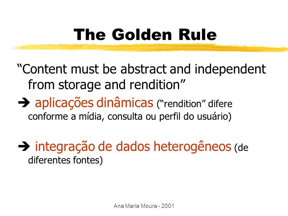 Ana Maria Moura - 2001 HTML: descreve apresentação