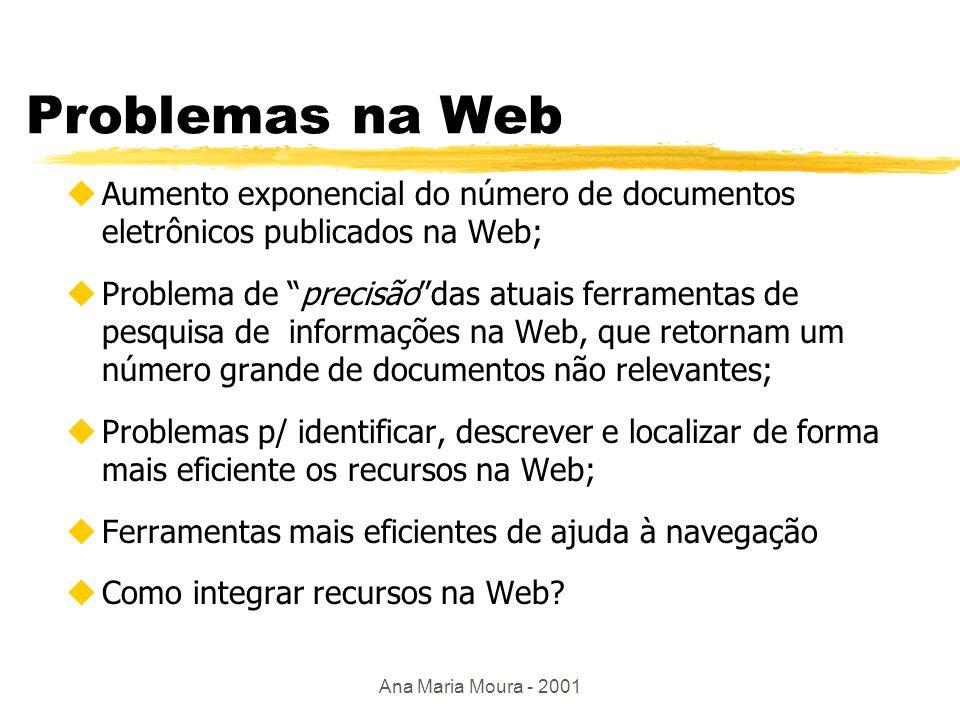 Ana Maria Moura - 2001 Grande problema !!! zComo achar o que se deseja