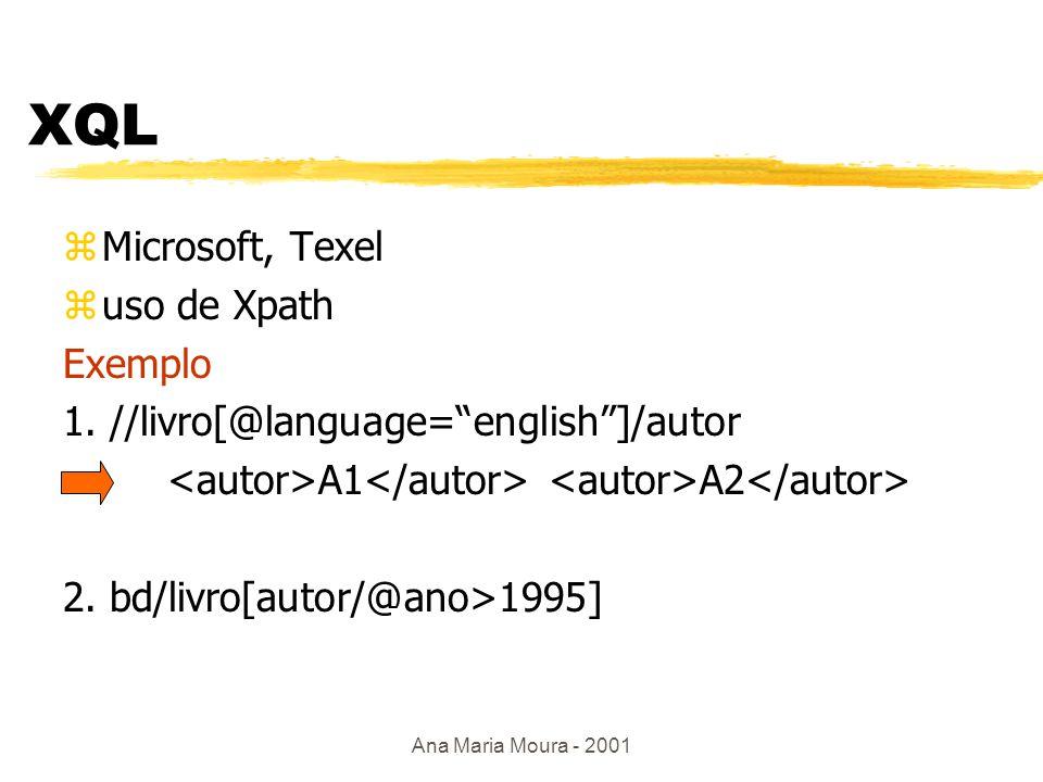 Ana Maria Moura - 2001 Outras linguagens...