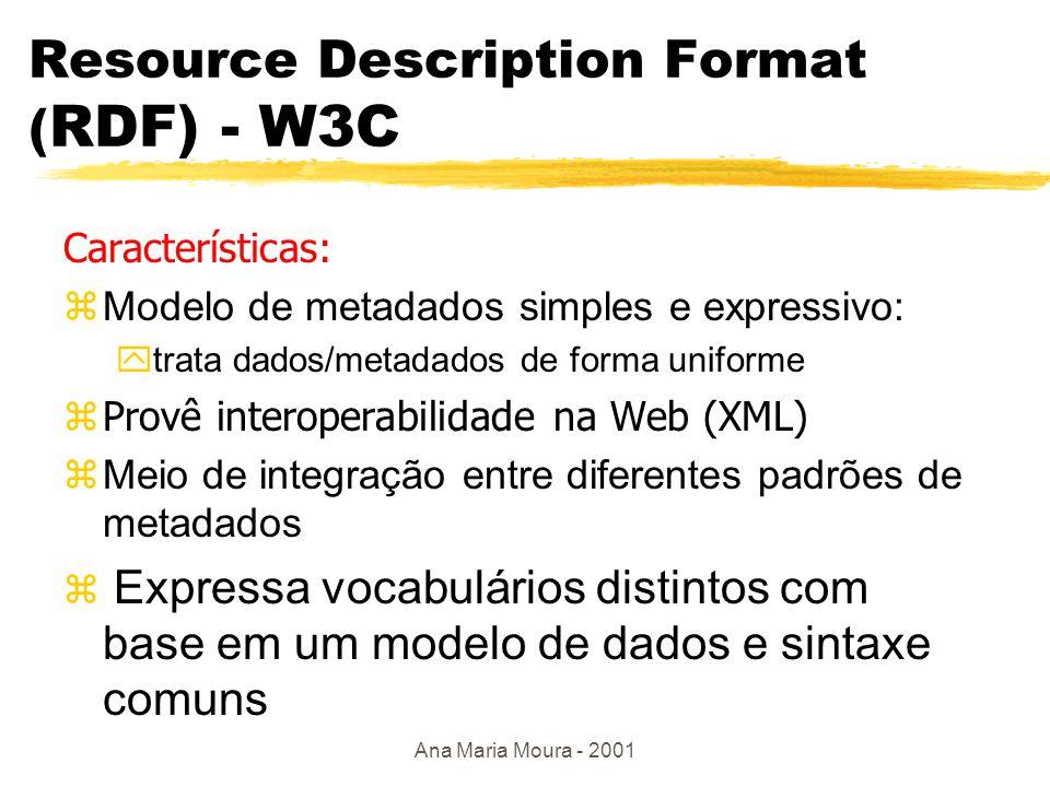 Ana Maria Moura - 2001 XSL zXSL Transformations(XSLT), recomendação W3C zregras de transformação XML XML zprograma XSLT é um documento XML.