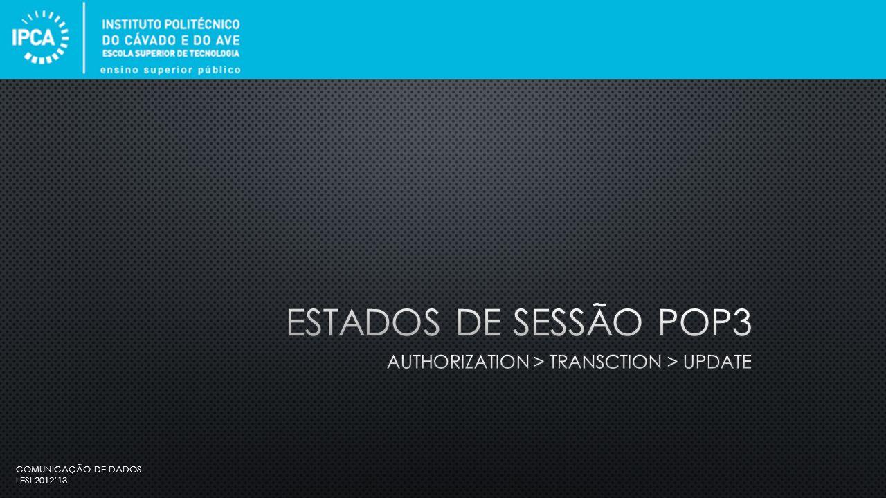 COMUNICAÇÃO DE DADOS LESI 2012'13