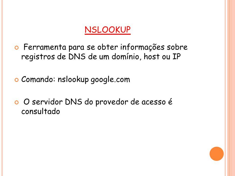 PERGUNTAS: Qual o nome do servidor que proveu resposta à consulta feita.