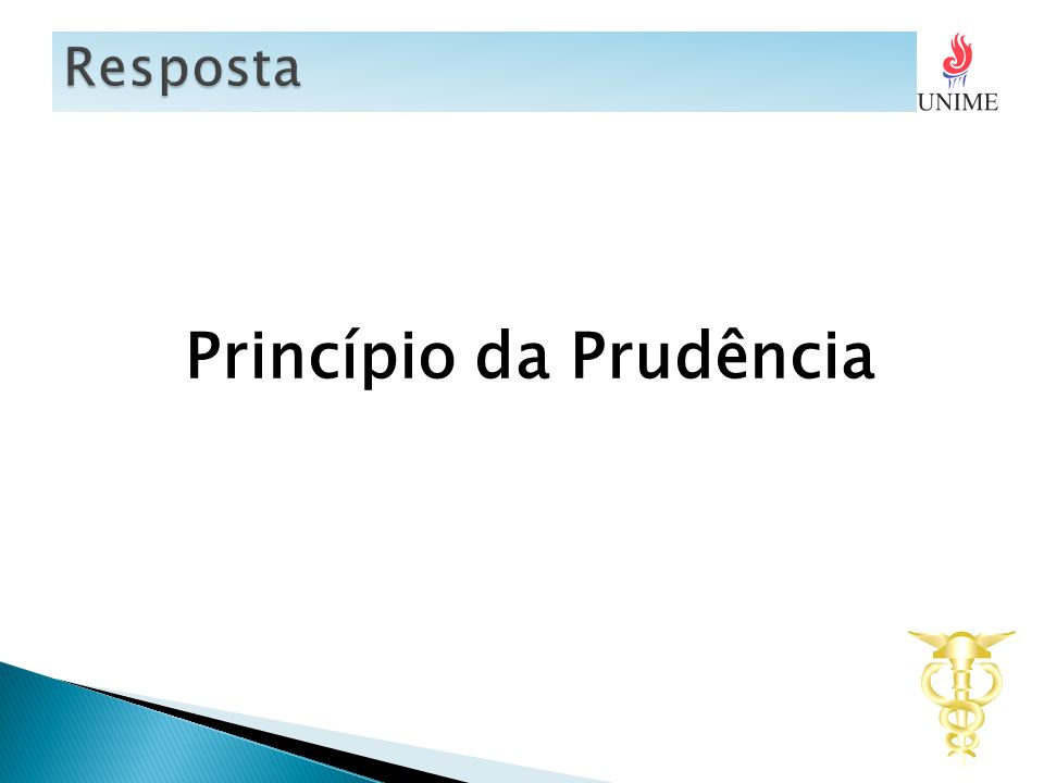 Princípio da Prudência