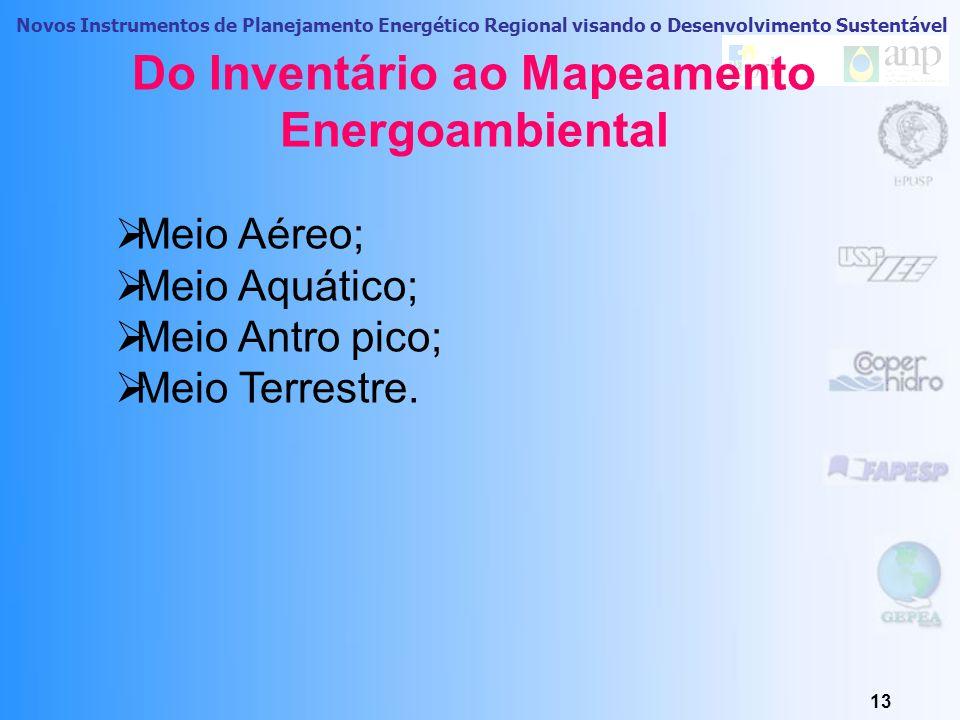 Novos Instrumentos de Planejamento Energético Regional visando o Desenvolvimento Sustentável 12 Previsões do consumo e Demanda Cenário Tendencial