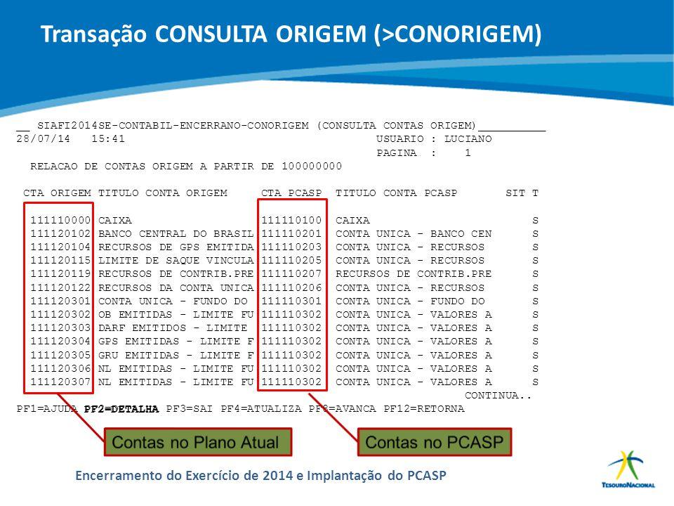ABOP Slide 110 XI Semana de Administração Orçamentária, Financeira e de Contratações Públicas Encerramento do Exercício de 2014 e Implantação do PCASP