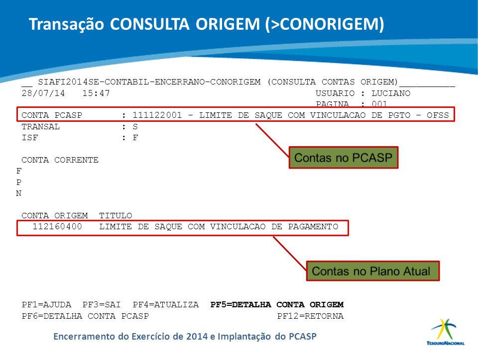 ABOP Slide 111 XI Semana de Administração Orçamentária, Financeira e de Contratações Públicas Encerramento do Exercício de 2014 e Implantação do PCASP