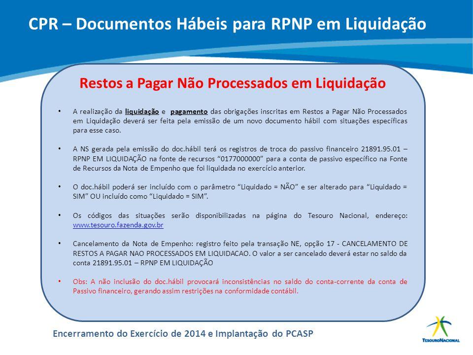 ABOP Slide 140 XI Semana de Administração Orçamentária, Financeira e de Contratações Públicas Encerramento do Exercício de 2014 e Implantação do PCASP