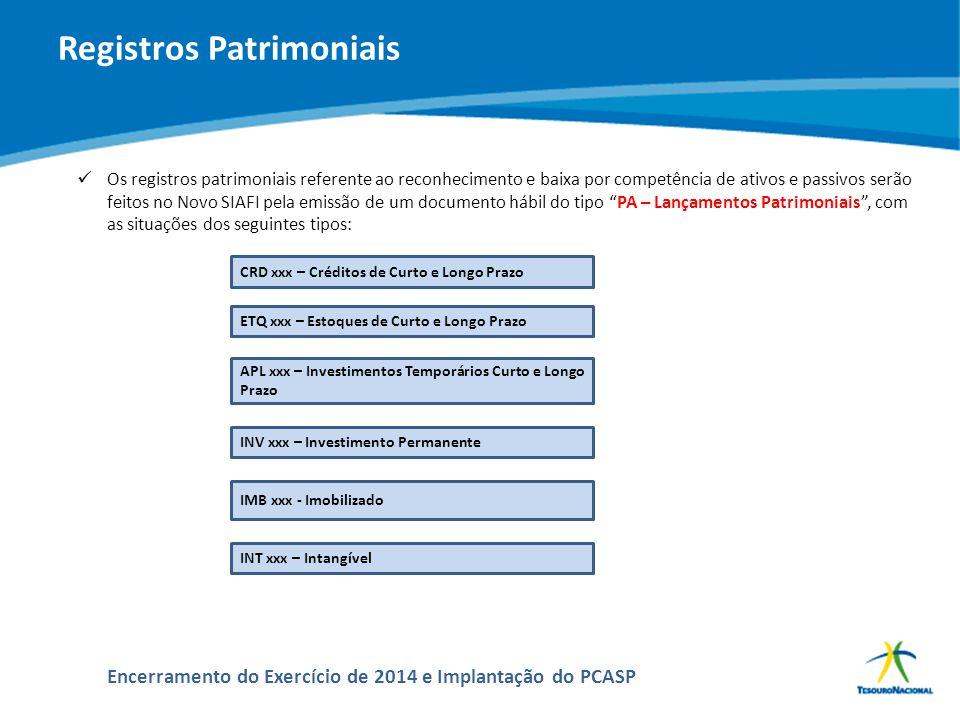 ABOP Slide 155 XI Semana de Administração Orçamentária, Financeira e de Contratações Públicas Encerramento do Exercício de 2014 e Implantação do PCASP