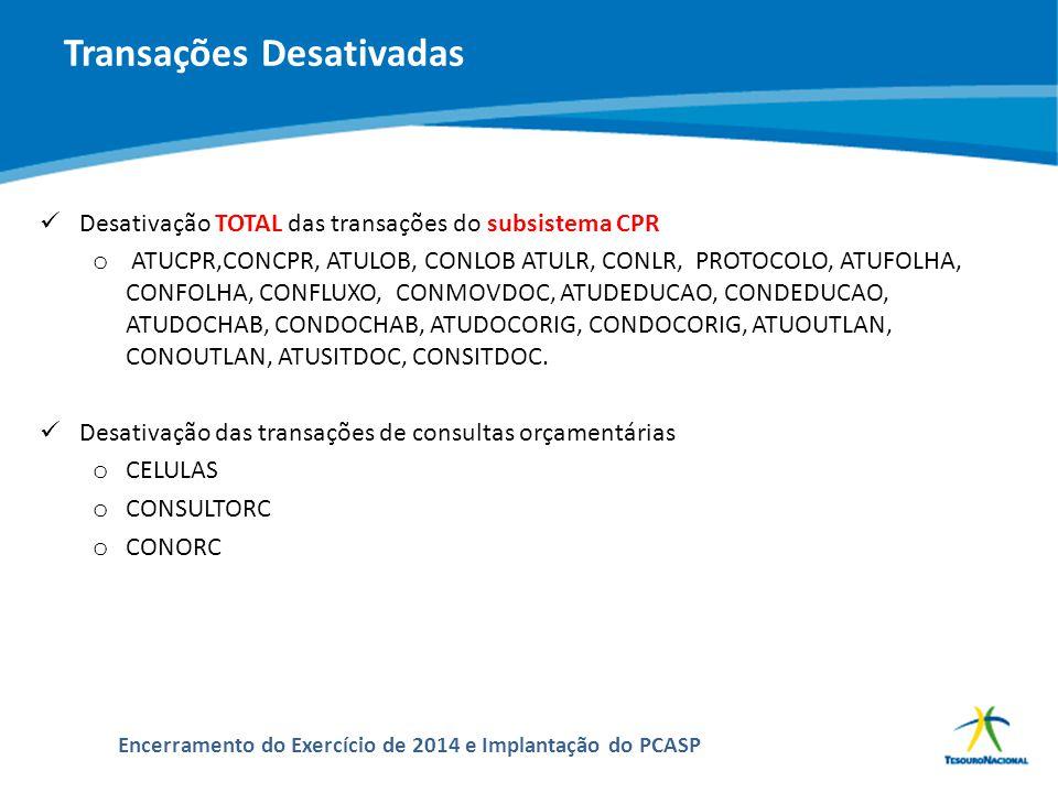 ABOP Slide 156 XI Semana de Administração Orçamentária, Financeira e de Contratações Públicas Encerramento do Exercício de 2014 e Implantação do PCASP