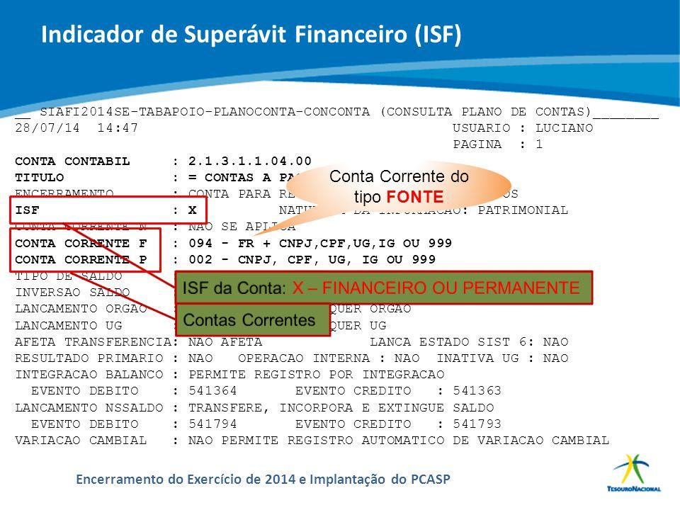 ABOP Slide 46 XI Semana de Administração Orçamentária, Financeira e de Contratações Públicas Encerramento do Exercício de 2014 e Implantação do PCASP