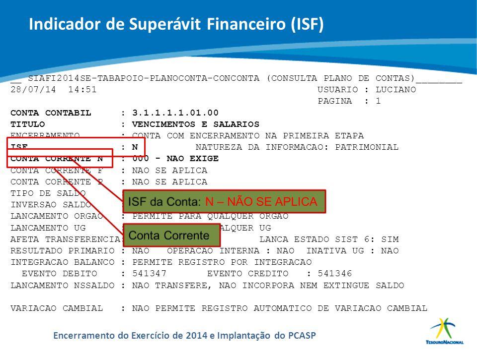 ABOP Slide 47 XI Semana de Administração Orçamentária, Financeira e de Contratações Públicas Encerramento do Exercício de 2014 e Implantação do PCASP