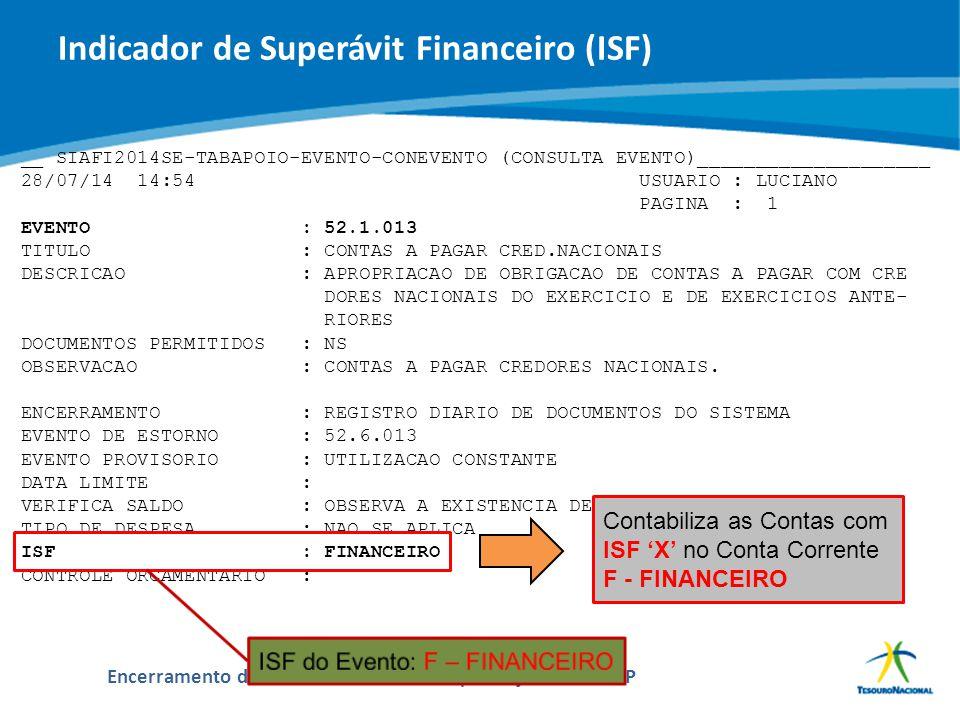 ABOP Slide 48 XI Semana de Administração Orçamentária, Financeira e de Contratações Públicas Encerramento do Exercício de 2014 e Implantação do PCASP