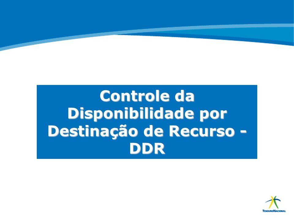 ABOP Slide 52 XI Semana de Administração Orçamentária, Financeira e de Contratações Públicas Controle da Disponibilidade por Destinação de Recurso - D
