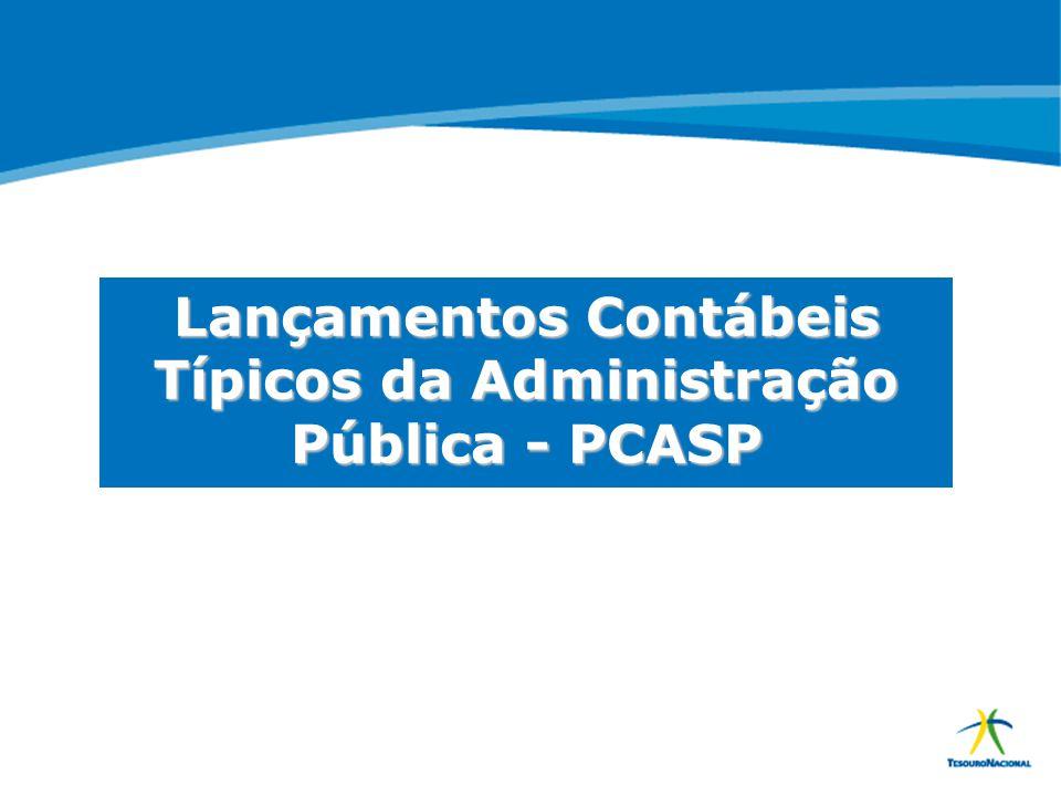 ABOP Slide 86 XI Semana de Administração Orçamentária, Financeira e de Contratações Públicas Lançamentos Contábeis Típicos da Administração Pública -