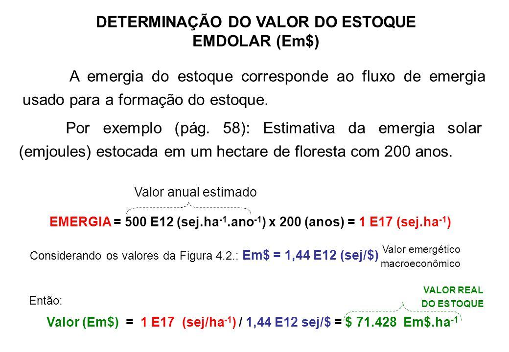 Exemplo de recurso escasso: Madeira