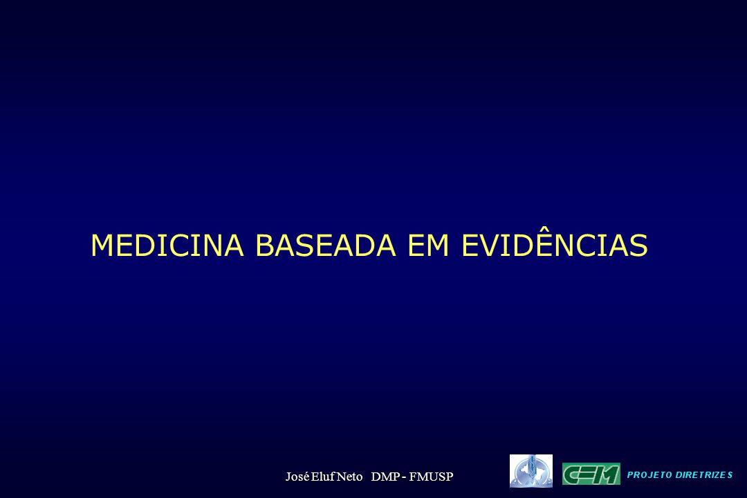 MEDICINA BASEADA EM EVIDÊNCIAS José Eluf Neto DMP - FMUSP
