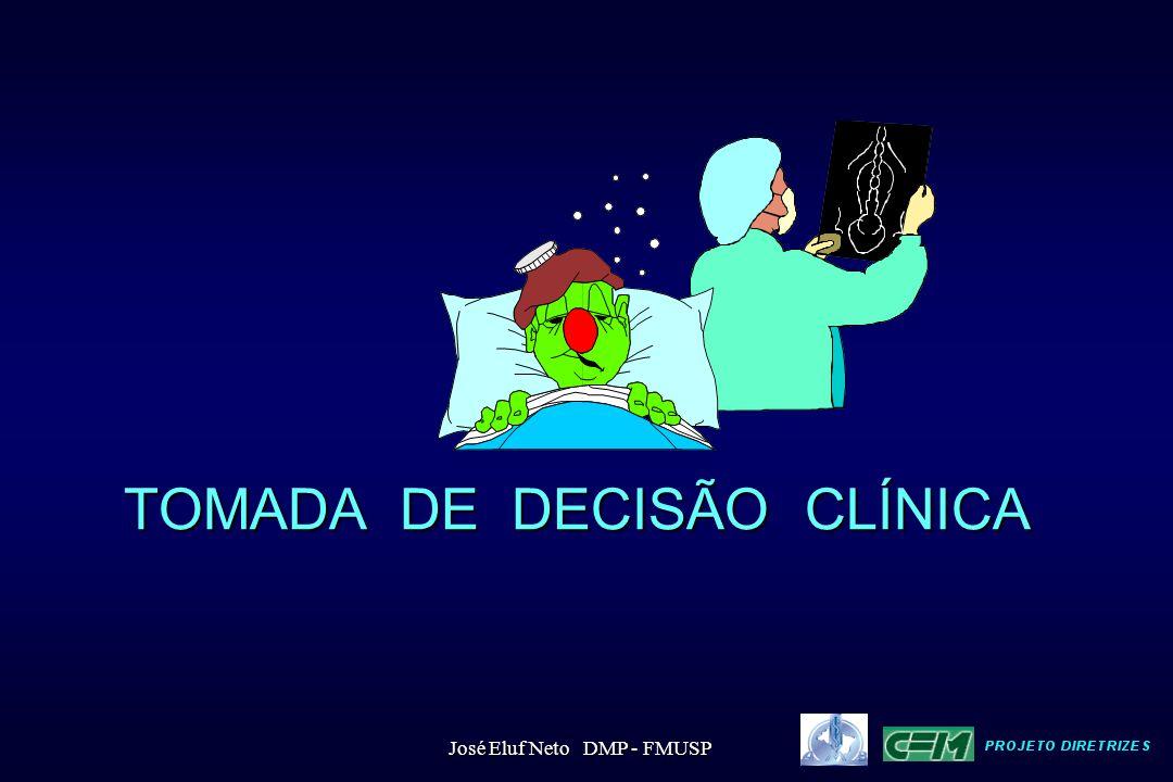 TOMADA DE DECISÃO CLÍNICA José Eluf Neto DMP - FMUSP