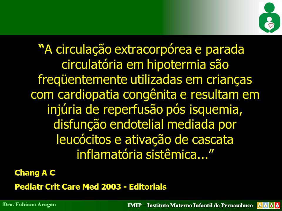 IMIP – Instituto Materno Infantil de Pernambuco Dra. Fabiana Aragão Hiperpotassemia