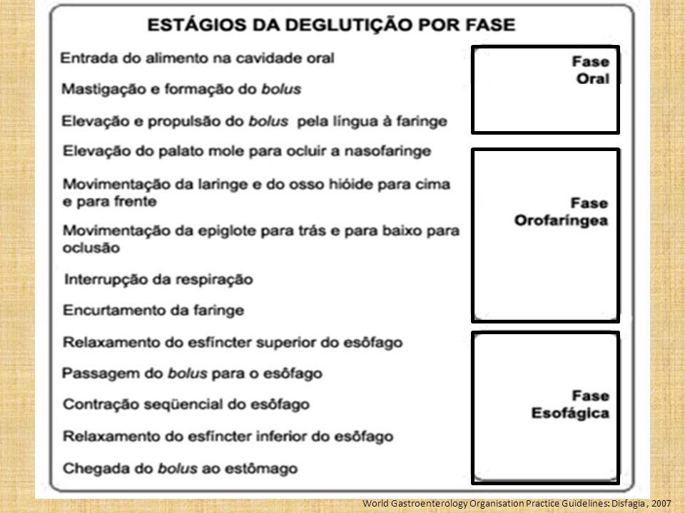 World Gastroenterology Organisation Practice Guidelines: Disfagia, 2007