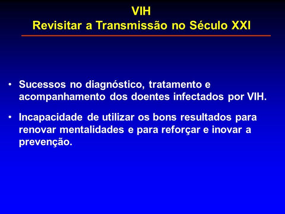 Sucessos no diagnóstico, tratamento e acompanhamento dos doentes infectados por VIH. Incapacidade de utilizar os bons resultados para renovar mentalid
