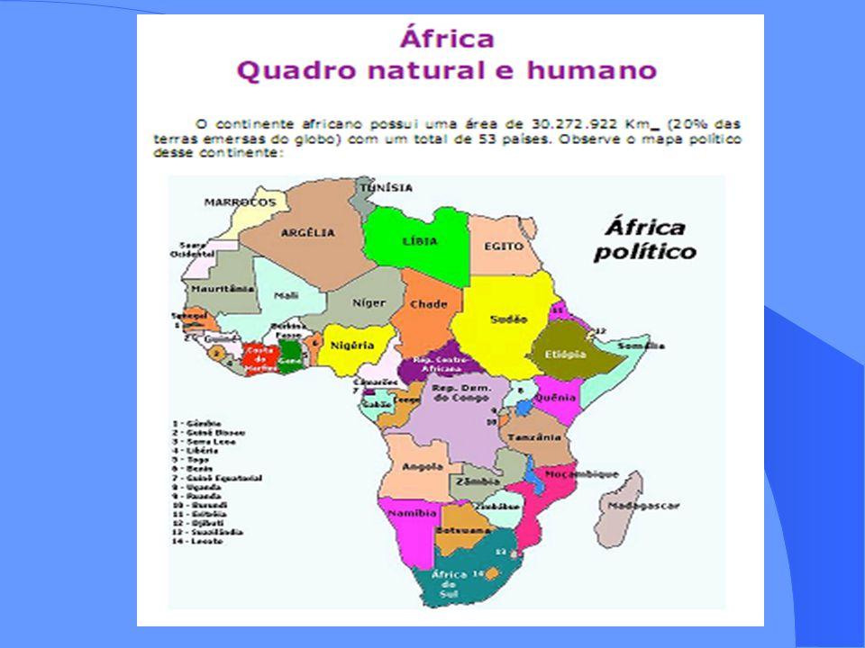 ÁFRICA: ESPAÇO GEO(FÍSICO, ECONÔMICO, POLÍTICO); ESPAÇO GEO(FÍSICO, ECONÔMICO, POLÍTICO); CARACTERÍSTICAS GEOAMBIENTAIS E GEOPOLÍTICAS CARACTERÍSTICAS GEOAMBIENTAIS E GEOPOLÍTICAS