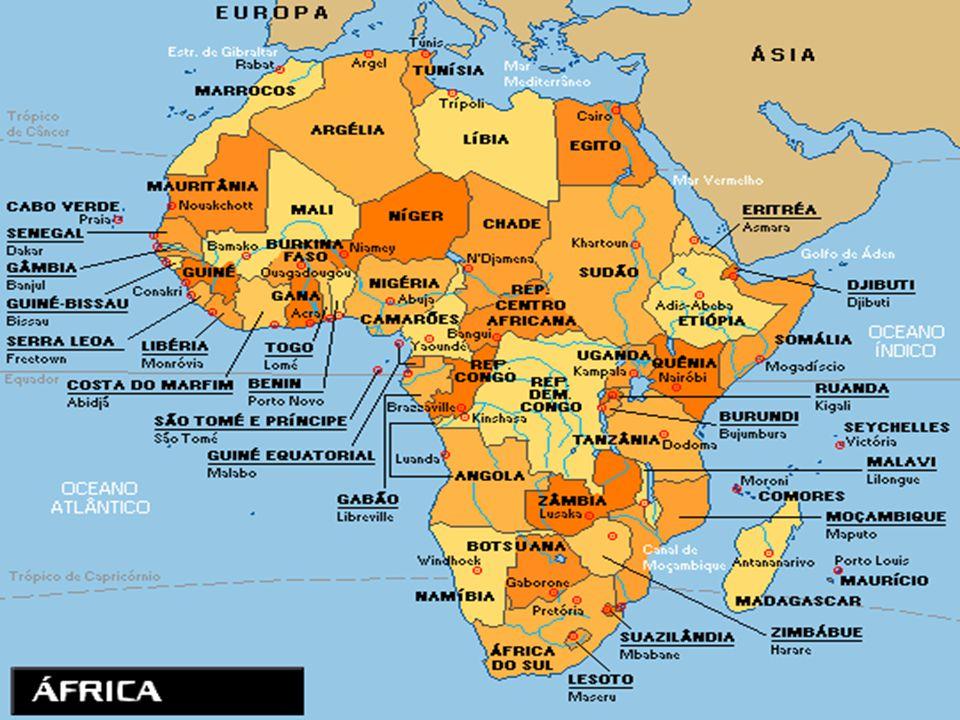 Produz através do plantation algodão, café, bananas e cana- de-açúcar; A vegetação é o Sahel, uma transição entre o deserto, savana e floresta e semelhante ao nosso cerrado; Exercícios e próxima aula