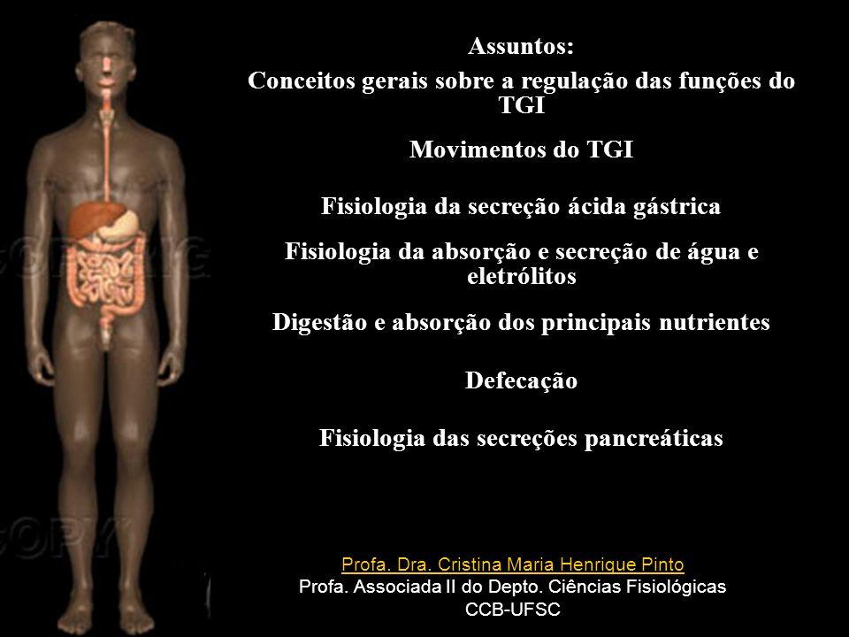 (repare que é semelhante à constituição de nosso organismo) Despopoulos´s Color Atlas of Physiology, 2003 Thieme Em média, a produção de massa fecal é