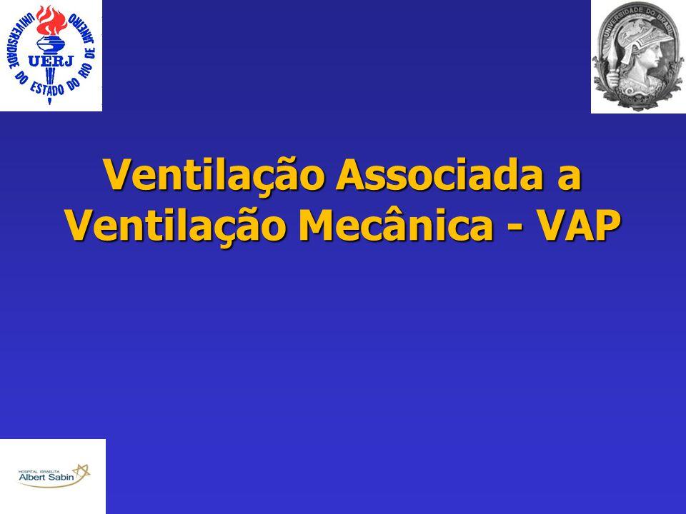 Ventilação Associada a Ventilação Mecânica - VAP