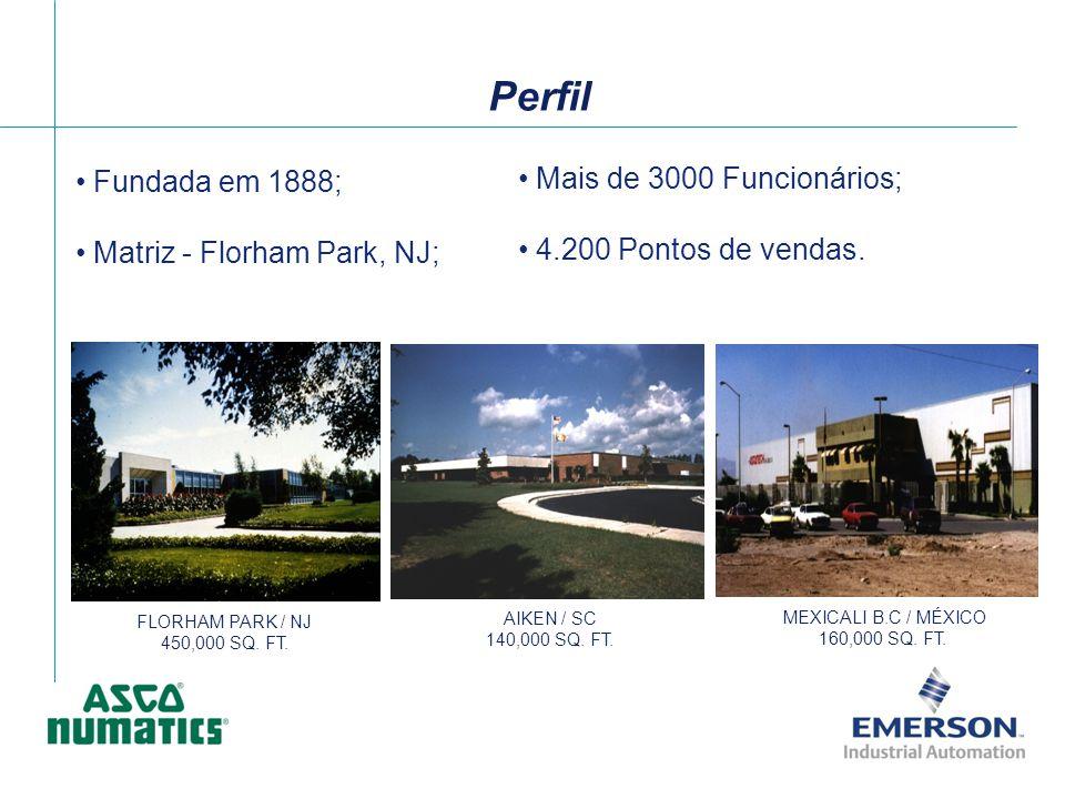 Mais de 3000 Funcionários; 4.200 Pontos de vendas. FLORHAM PARK / NJ 450,000 SQ. FT. AIKEN / SC 140,000 SQ. FT. MEXICALI B.C / MÉXICO 160,000 SQ. FT.