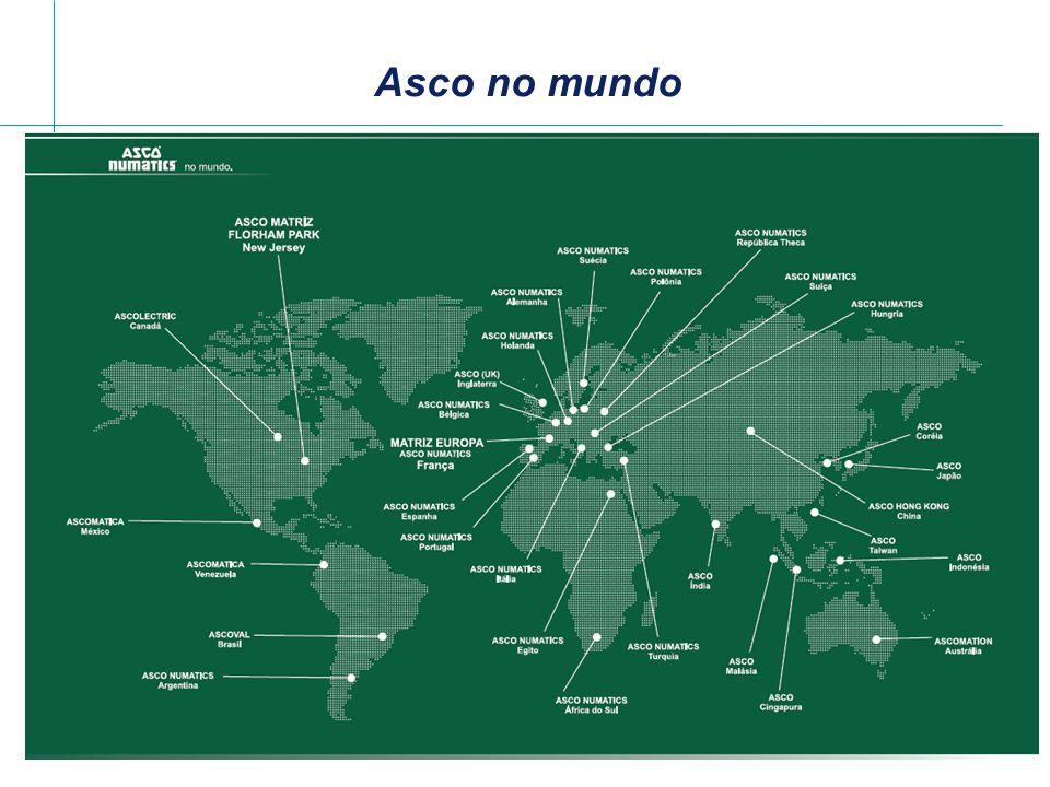EMERSON Em 1985 a ASCO é adquirida pela Emerson Electric Co.