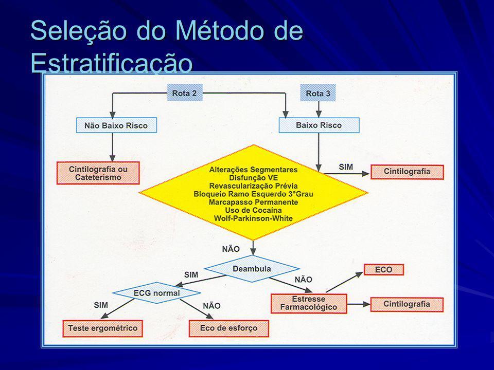 Seleção do Método de Estratificação